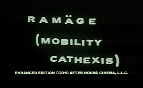 Ramage (Mobility Cathexis) (1972) cover