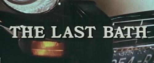 The Last Bath (1975) cover