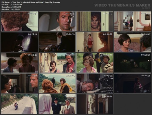 Your Vice Is a Locked Room and Only I Have the Key (1972) screencaps