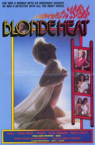 Blonde Heat (1985) cover