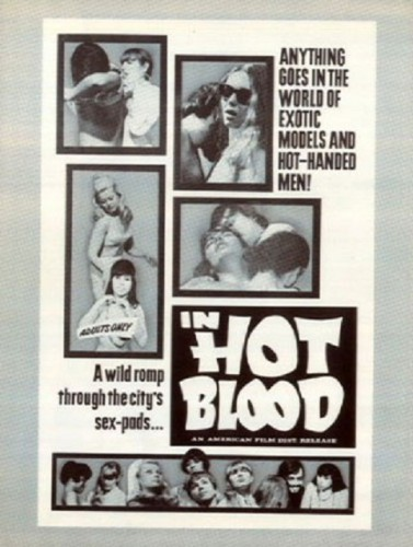 In Hot Blood (1968) cover