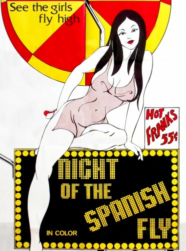Night of the Spanish Fly (1976) cover
