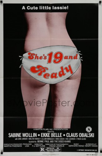 She's 19 and Ready (1979) cover