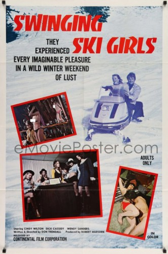 Swinging Ski Girls 331x500 - Sexy Girls of Denmark (1973)