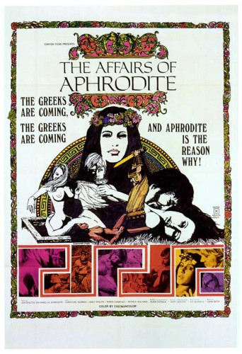 The Affairs of Aphrodite (1970) cover