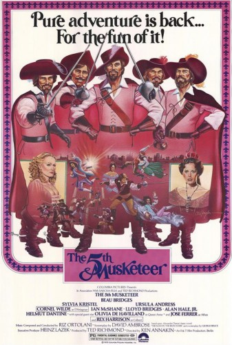The Fifth Musketeer (1979) cover