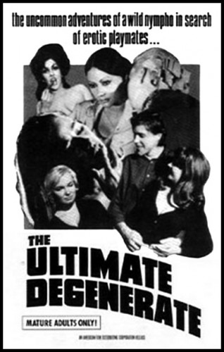 The Ultimate Degenerate (1969) cover